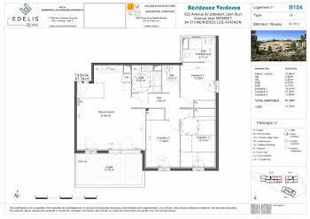 Appartement 4 pièces 86,08 m2