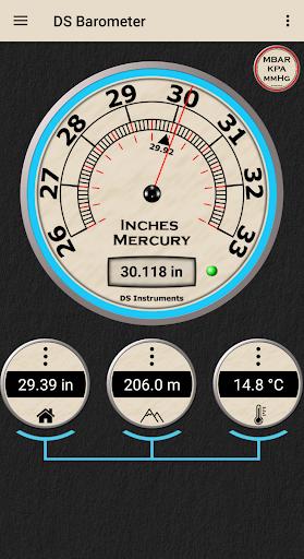 DS Barometer - Altimeter and Weather Information 3.75 screenshots 3