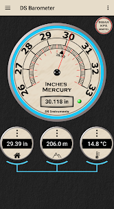 DS Barometer – Altimeter and Weather Information 3