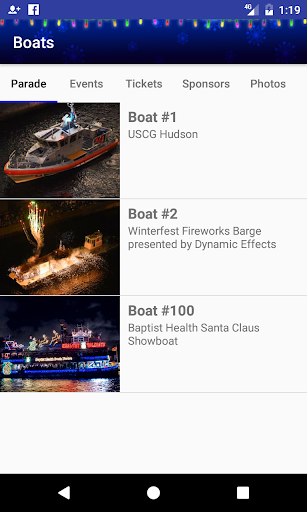 Winterfest Boat Parade Screenshot