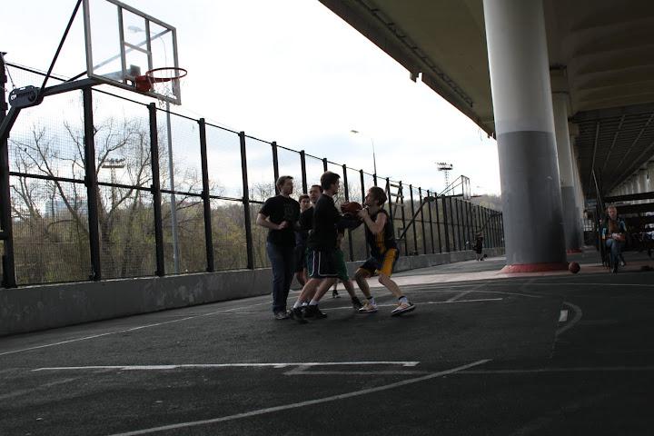 стритбол игра фото
