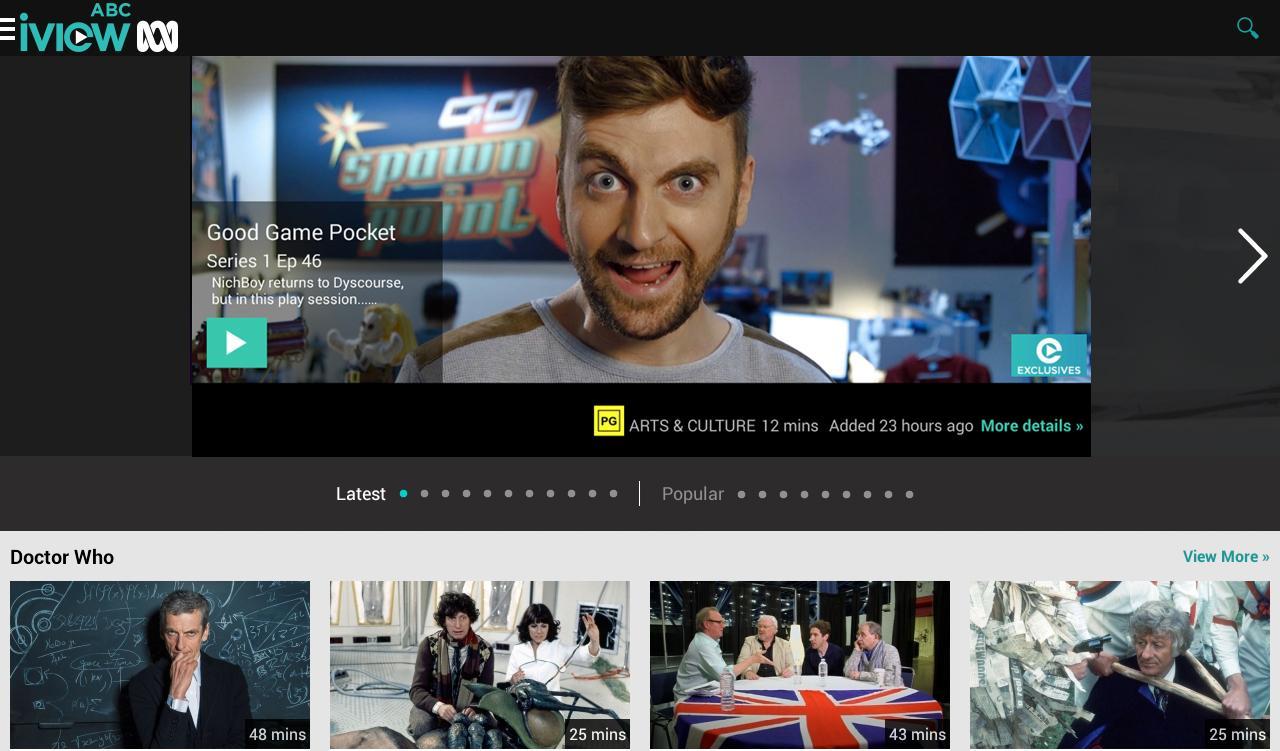 ABC iview - screenshot