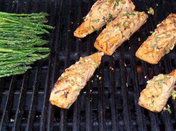 When you are happy with the color of the grill marks, carefully turn the...