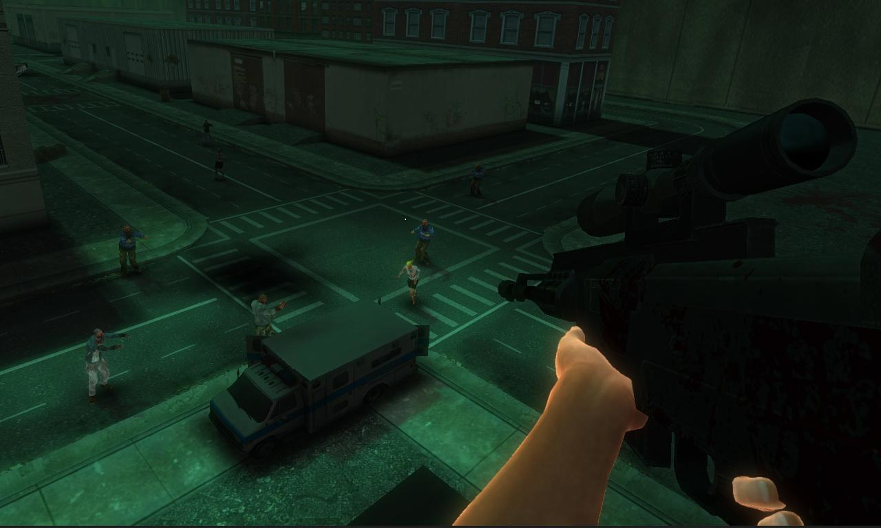 Dead Shot Zombie Hunter- screenshot