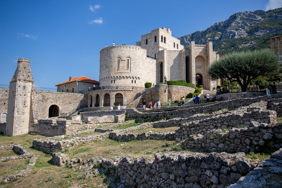 Kruja, zamek Skanderbega