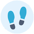 Pedometer, Calorie & Step Counter App For Fitness icon