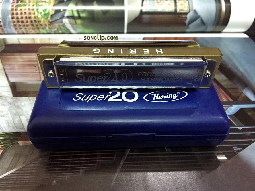 Kèn Harmonica - Hering Super 20 (key C)