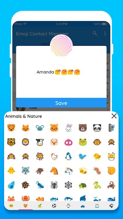 Emoji Contact: Contact Emoji Maker – (Android Apps) — AppAgg