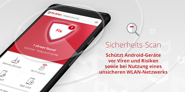 Mobile Security: Virenschutz, WLAN VPN, Anti-Theft Screenshot