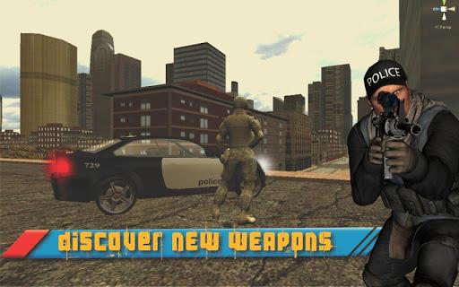 警方打击罪案市3D