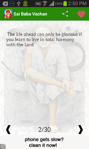 Sai Baba Quotes by Mobiscreen (Google Play, United States