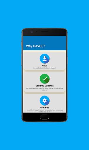 Havoc OS screenshot 2