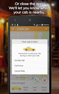 ZabCab - The Taxi App screenshot 3
