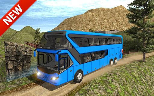 Uphill offroad bus driving sim 1.0.8 screenshots 11