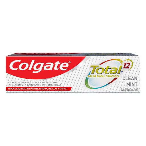 Crema Dental Colgate Total 12 Clean Mint 75Ml