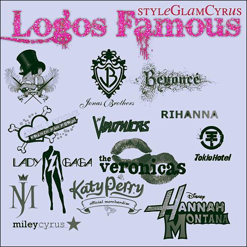 Milhares De Logotipos Famosos Para Edi 231 227 O No Photoshop E