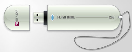 Tutorial desenhar um Pen Drive