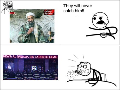 Cereal Guy comenta sobre Osama