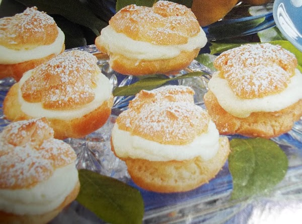 Lemon Cream Puffs Recipe