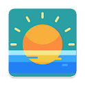 Sunset & sunrise times by location icon
