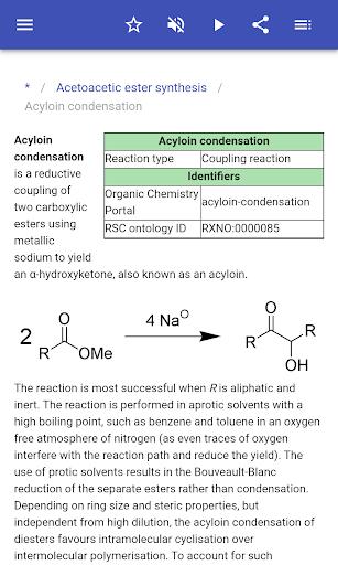 organic reactions screenshot 3