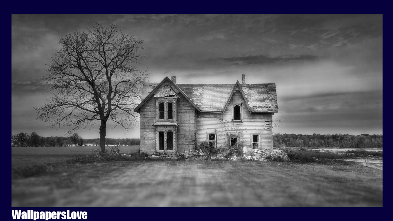 Horror house wallpaper android apps on google play for Wallpaper with houses on it