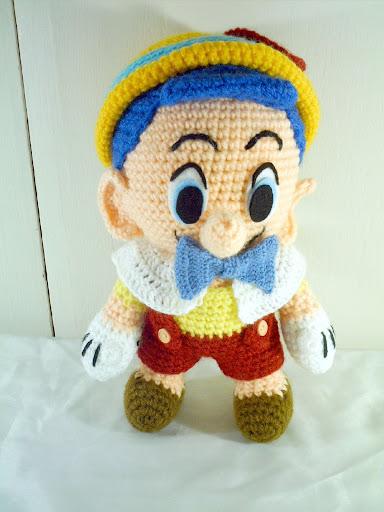 اطفال بالكروشي رائعة Pinochio.JPG