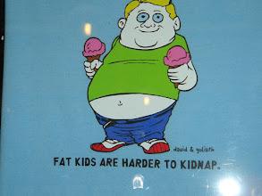 "Photo: Advice nr. 6: ""Feed your kids!"""