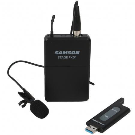 Samson Stage XPD1 draadloze USB dasspeldmicrofoon voor video