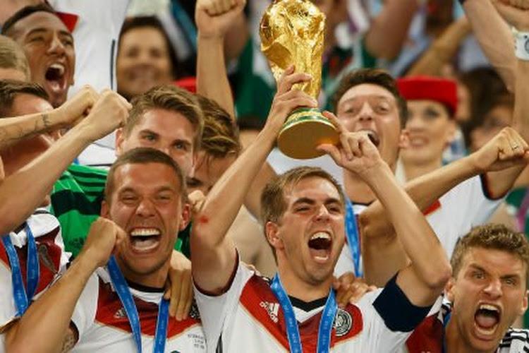 Philipp Lahm neemt afscheid van Mannschaft met wereldtitel