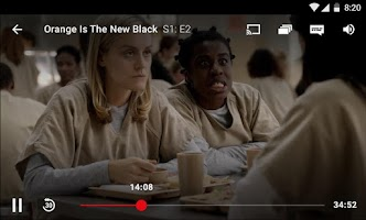 Screenshot of Netflix