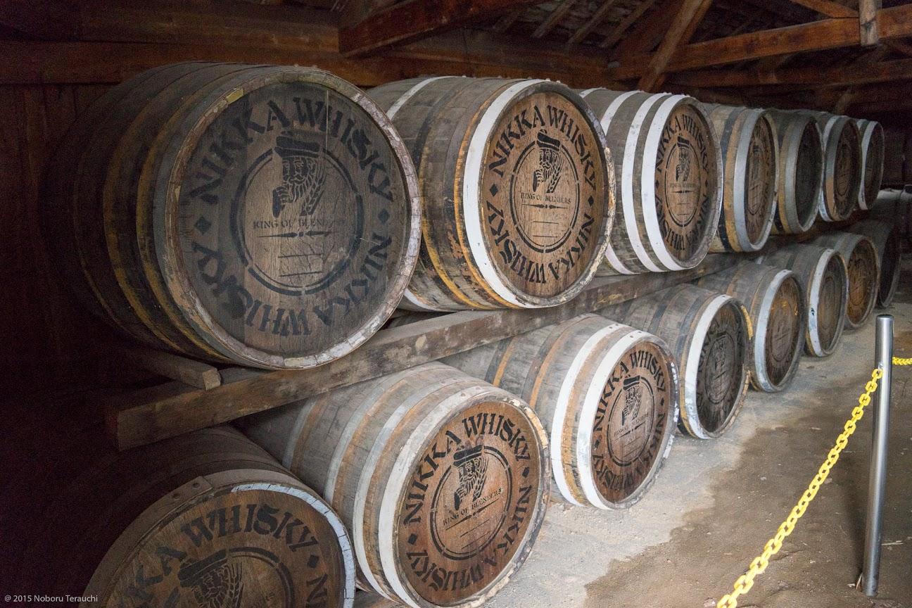 樽の貯蔵庫