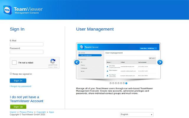 Kiosk for Teamviewer-Remote Desktop