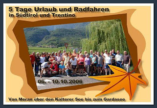 Photo: Sehr schöne Tage in Südtirol bei der auch Gaby mit dabei war. www.bayernfranz.de