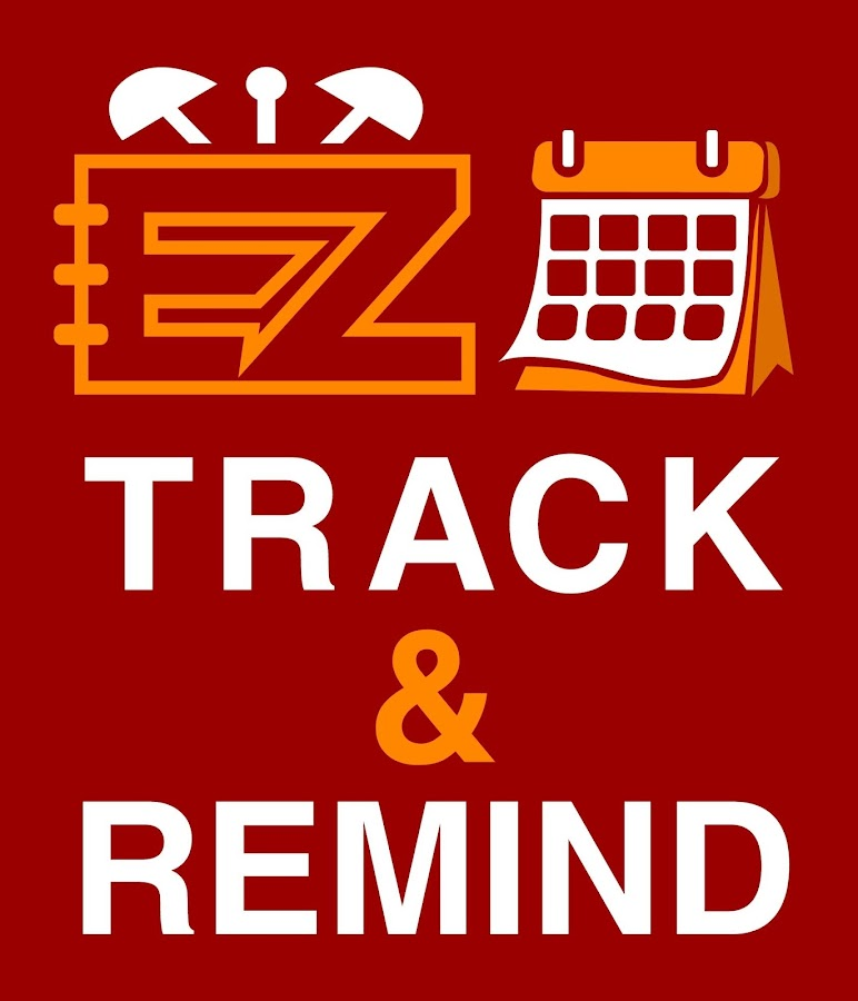 EZ TRACK AND REMIND- screenshot