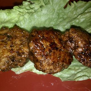 Blueberry Balsamic Chicken Meatballs.