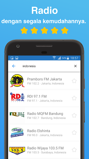 Simple Radio - Stasiun Radio FM AM  screenshots 1