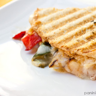 Rajas Grilled Cheese Panini