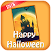 Halloween Wishing card & Halloween Greetings Icon