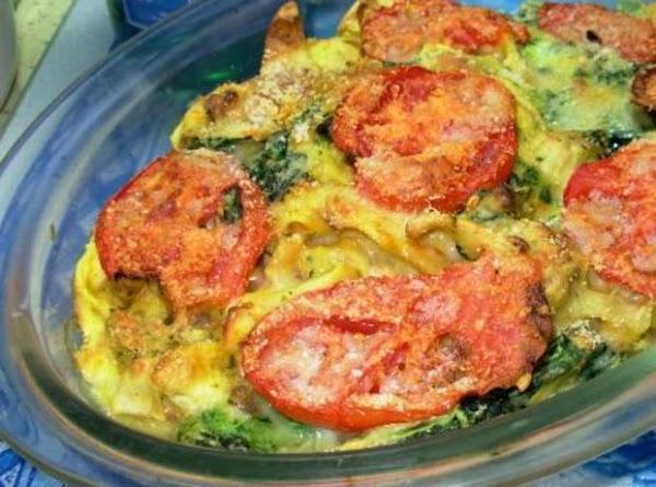 Spinach And Tortellini Casserole Recipe