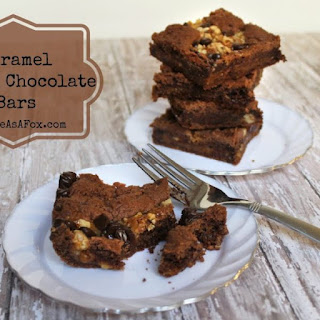 Caramel German Chocolate Bars