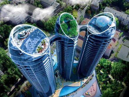 Інноваційний дім Taryan Towers — мрії стають реальністю