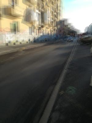 Milano, zona rossa: traffico all'ora di punta! di Inge