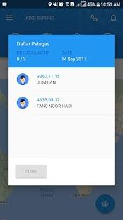 GIS - Monitoring - náhled