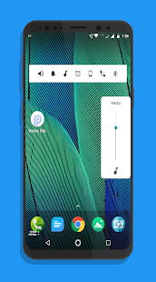 Volume Slider Like Android P Volume Control Screenshot