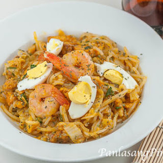 Simple Pancit Palabok