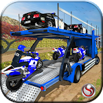 OffRoad Police Transport Truck Icon