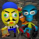 Sponge Neighbor's Hospital. Scary Friends Escape icon