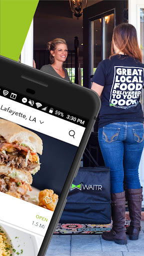 Screenshot for Waitr—Food Delivery & Carryout in United States Play Store