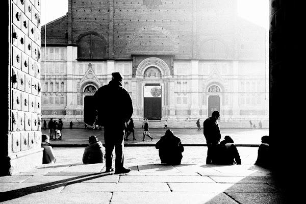 L'umarell e la Basilica di francesco_bernardi